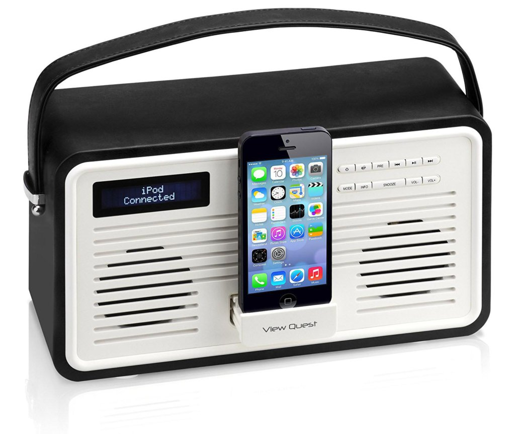 VQ Retro ColourGen DAB+ Radio / amazon.de